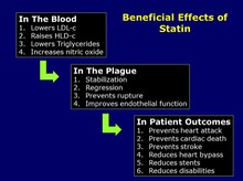 Beneficial Effects of Statin